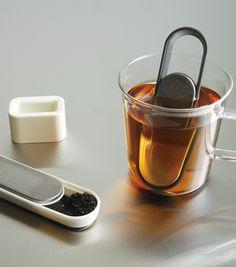 Minimalist Loop Tea Strainer from Kinto