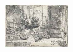 van Rijn , The Holy Family with the Cat and Snake Cat Having Kittens, Cats, Keep Snakes Away, Rembrandt Etchings, Cat Hat, Holy Family, Holi, Vintage World Maps, Dog Cat