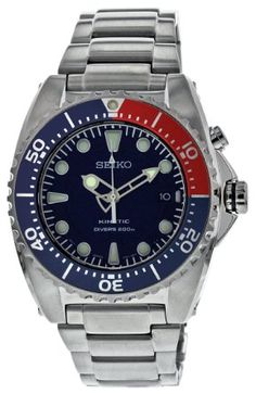 Seiko Kinetic 200m Diver's Watch