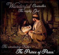 His name shall be called Wonderful! (Isaiah 9:6) #Christmas