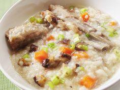 香菇排骨燉粥