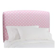 I pinned this Chloe Polka Dot Headboard from the Maddie & Me event at Joss and Main!