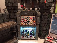 How one maker created an incredible castle-themed dungeon master screen for D&D.