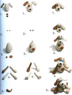DIY Polymer Clay Dog Tutorial:
