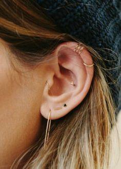 Ear piercings minimal