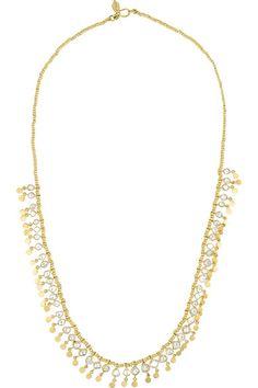 18-karat Gold Herkimer Diamond Bracelet - one size Pippa Small kAvID6