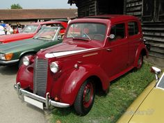 Vauxhall 12 - 1945/48