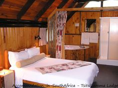 Accommodation at Tsitsikamma Lodge & Spa. Allure Spa, Storms, Cabin, River, Bed, Furniture, Design, Home Decor, Thunderstorms