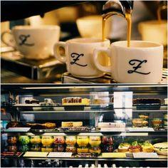 GUTEN MORGEN OFFENBURG 🌝 Kaffee kommt immer zuerst ✌️ und danach was leckeres aus unserer Frische-Theke 😍 Grüße aus dem Z Café Offenburg 💜💤