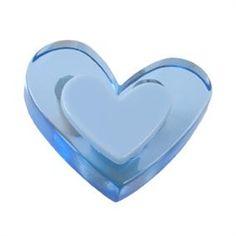 pomos tiradores corazon metacrilato azul puerta mueble infantiles juve 345 comprar venta online 666az