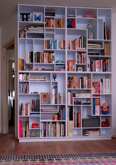 Amazingly cool bookshelf