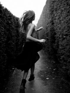 reminds me of alice running through the queens garden labyrinth