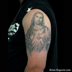 #Jesus sacred heart #tattoo