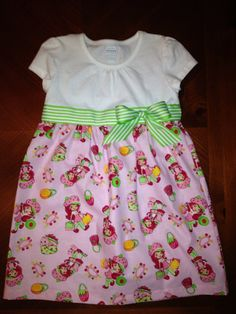 Strawberry Shortcake Dress on Etsy, $30.00