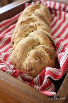 Almond & Stilton Whole Wheat Braid