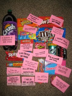 Send one to him every day from the first day of February till valentines day?? I think yessssss(: