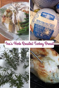 Need extra white meat for Thanksgiving? Try Ina Garten's (Barefooot Contessa) Herb Roasted Turkey Breast with seasonings under the skin. Defrosting Turkey, Herb Roasted Turkey, Roast Turkey Breast, Macaroni Cheese, Breast Recipe, Cooking Turkey, White Meat, Fresh Herbs, Cooking Time