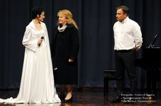 Irene Carossia, Dolores Previtali e Alberto Moioli