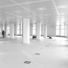 This is the Hirsch building in Amsterdam. This floor will become the new JWT office by the end of march 2012.