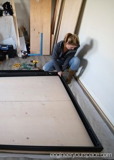 Building a Murphy Bed - part 3
