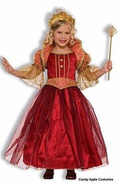 Child's Deluxe Renaissance Damsel Costume $35.99