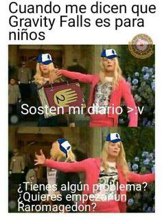 XD un meme bien shido de gravity falls Funny Quotes, Funny Memes, Memes Humor, Gravity Falls Au, Otaku Meme, Reverse Falls, Trust No One, Stranger Things Netflix, Disney Memes