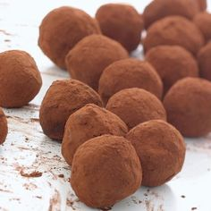 Chocolate irish whiskey truffles