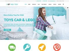 ET Kid Toy is Free Joomla Toy Store Template that targets for toy store websites. This is the perfect solution to help your sell to a national or world market via your online store. Beside, toy store Joomla! template will help your store to increase sales and impress your customers with an easy to use high-quality website. Toy store Joomla! template follow the contemporary design direction featuring clean look, simplicity, minimal layout with a lot of negative space.