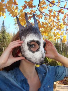 Silver Crown Mask By Riley Sell by YaYosCircus on Etsy