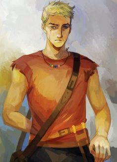 Rick Riordan's offical // Luke Castellan // Art by viria