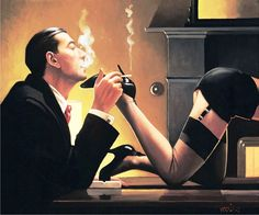 Jack Vettriano, OBE is a Scottish painter. His 1992 painting, The Singing Butler, became a best-selling image in Britain. For biographical notes -in english and italian- and other works by Vettriano see: Jack Vettriano, 1951 Jack Vettriano, Alice Liddell, Andrew Wyeth, Bill Cosby, Burt Reynolds, Art And Illustration, The Singing Butler, Alberto Moravia, Oil Canvas