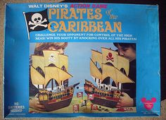 1975 Walt Disney's Action Game Pirates of the Caribbean