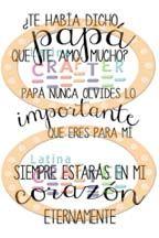 Mini frases para papá - Latina Crafter