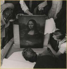 #Mona Lisa  #Louvre  #Museum  #Art Museum  #Paris  #france  #1940s  #40s  #Pierre Jahan  #Art  #French  #French Art  #Surrealism  #Surrealist  #Surrealist Art  #Photography  #Surrealist Photography  #Black And White  #Black & White  #Black & White Photography  #Vintage  #Classic  #Realism  #20th Century  #Classic Photography  #Post-war  #Post-War Europe  #Black And White Photography