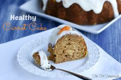 healthy carrot cake8 picm Healthy Carrot Cake