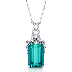 Tiffany Art Deco Scallop Pendant