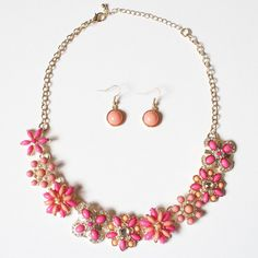 Pretty in Pink Necklace | Lemon Drop Boutique | $26.00