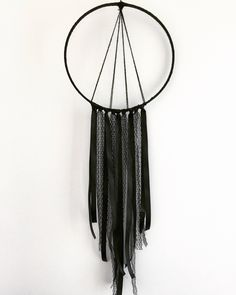 Excited to share the latest addition to my #etsy shop: Black dreamcatcher