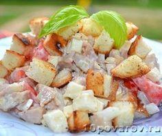 Салат Баварский, как в магните Potato Salad, Potatoes, Ethnic Recipes, Food, Potato, Meals