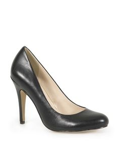She is not a very tall woman and this shoe will make her look a little taller Leather Court Shoes, Tall Women, Strappy Heels, Work Wear, Style Me, Pumps, Lady, How To Wear, Stuff To Buy