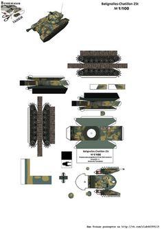 Сборная модель для склеивания из бумаги/картона Название: Немецкий тяжёлый танк времён ПМВ A7V (4 раскраски) Автор: Wayne McCullough Формат файла: PDF (Оригинал) Масштаб: 1:72 Формат листа: А4 Размер файла: 7,8 мб