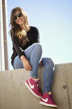 Pink Nike Blazer | Fashionnes