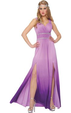 Lilac Goddess Costume