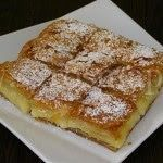 Page not found - Daddy-Cool. Greek Sweets, Greek Desserts, Greek Recipes, Desert Recipes, Sweet Buns, Sweet Pie, Bougatsa Recipe, Recipes Using Puff Pastry, Food Network Recipes