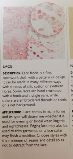 Lace -open weave fabric