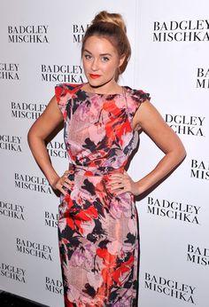 Lauren Conrad Photos: Badgley Mischka - Backstage- Spring 2013 Mercedes-Benz Fashion Week