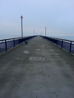 New Brighton Pier - early morning