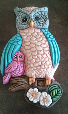 Owl Crafts, Xmas Crafts, Halloween Crafts, Clay Fairy House, How To Make Clay, Clay Fairies, Vintage Owl, Owl Art, Summer Diy