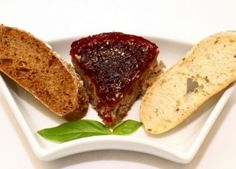 Domácí brusinková paštika Meatloaf, Food, Essen, Meals, Yemek, Eten