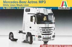 Italeri 1/24 Mercedes Benz ACTROS 1851 Blackliner Truck